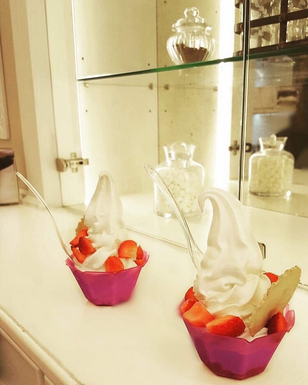 Lody jogurtowe w Lecco