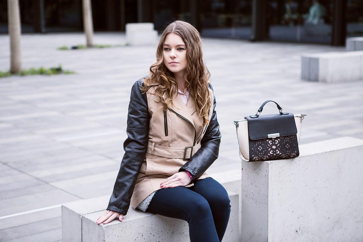 Orsay - ażurowa torebka