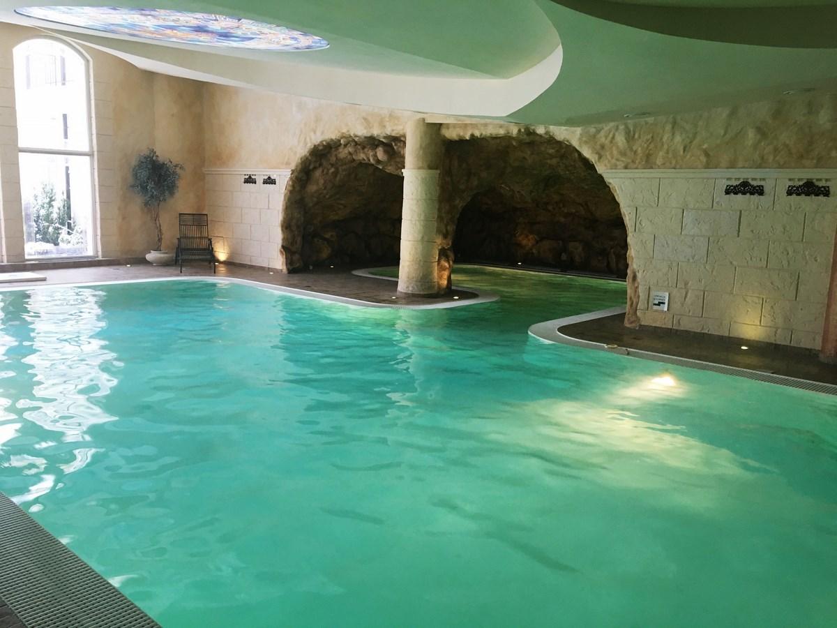 Urodziny w SPA Azzun - basen w środku