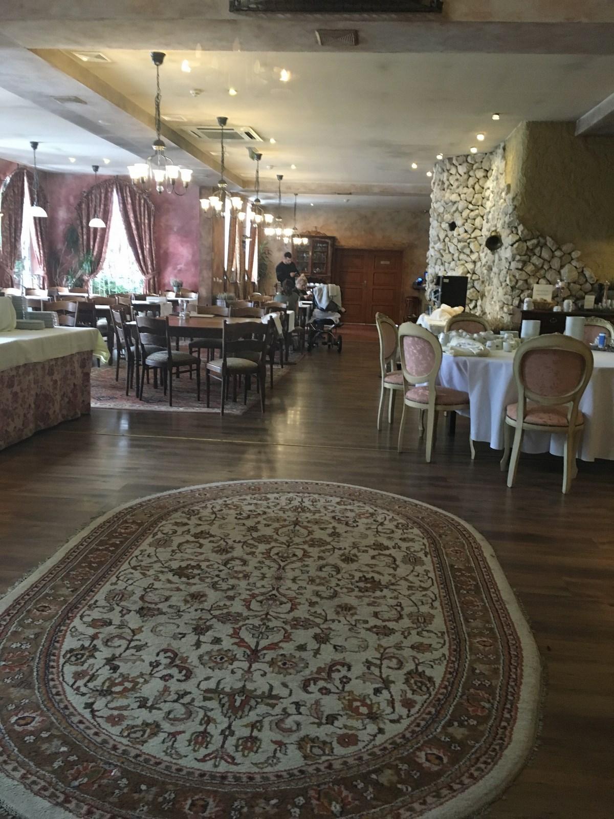 Urodziny w SPA Azzun - restauracja