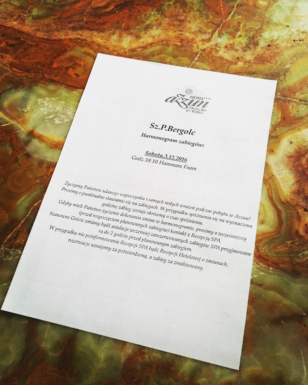 Urodziny w SPA Azzun - zaproszenie na zabiegi