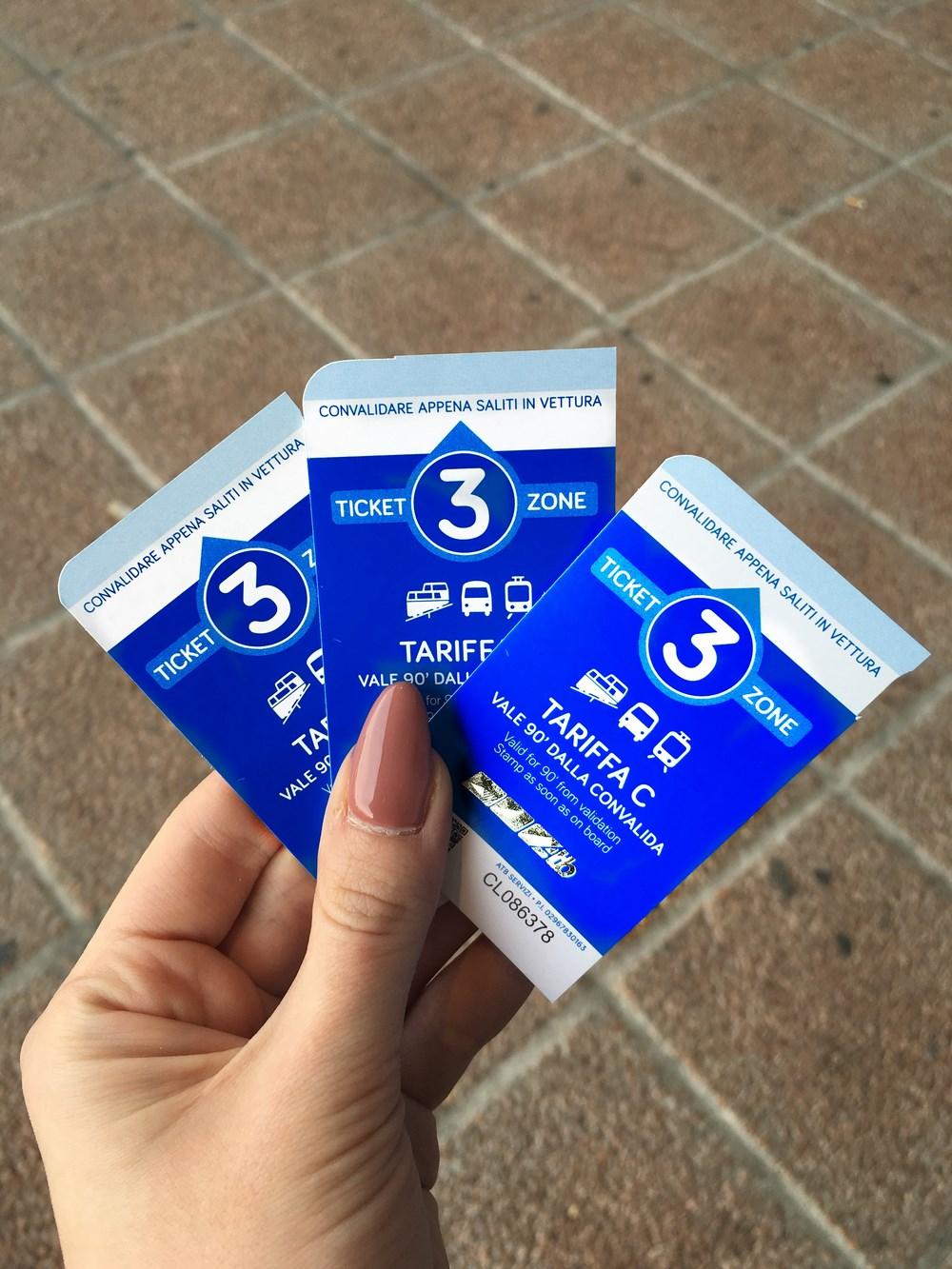 Włochy - bilety na autobus