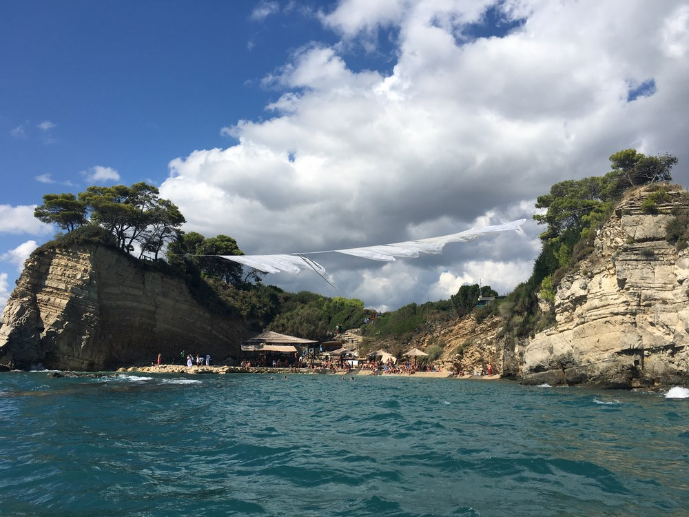 Widok na Cameo Island od strony morza