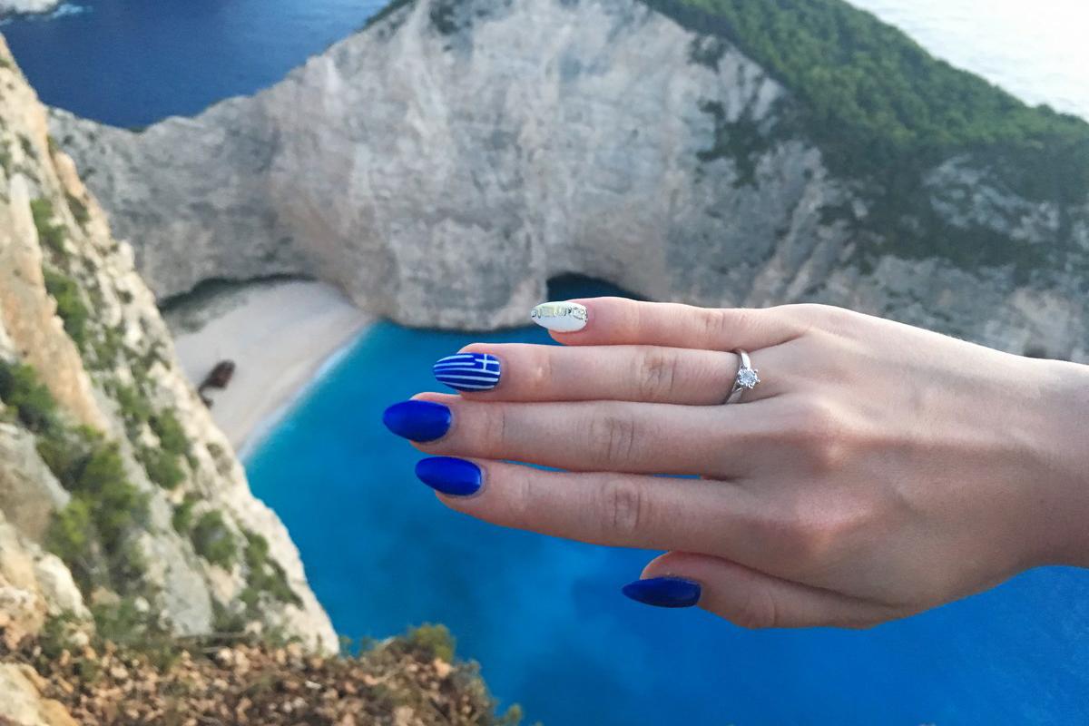 Zatoka Wraku, Grecja, zaręczyny - spełnione marzenie