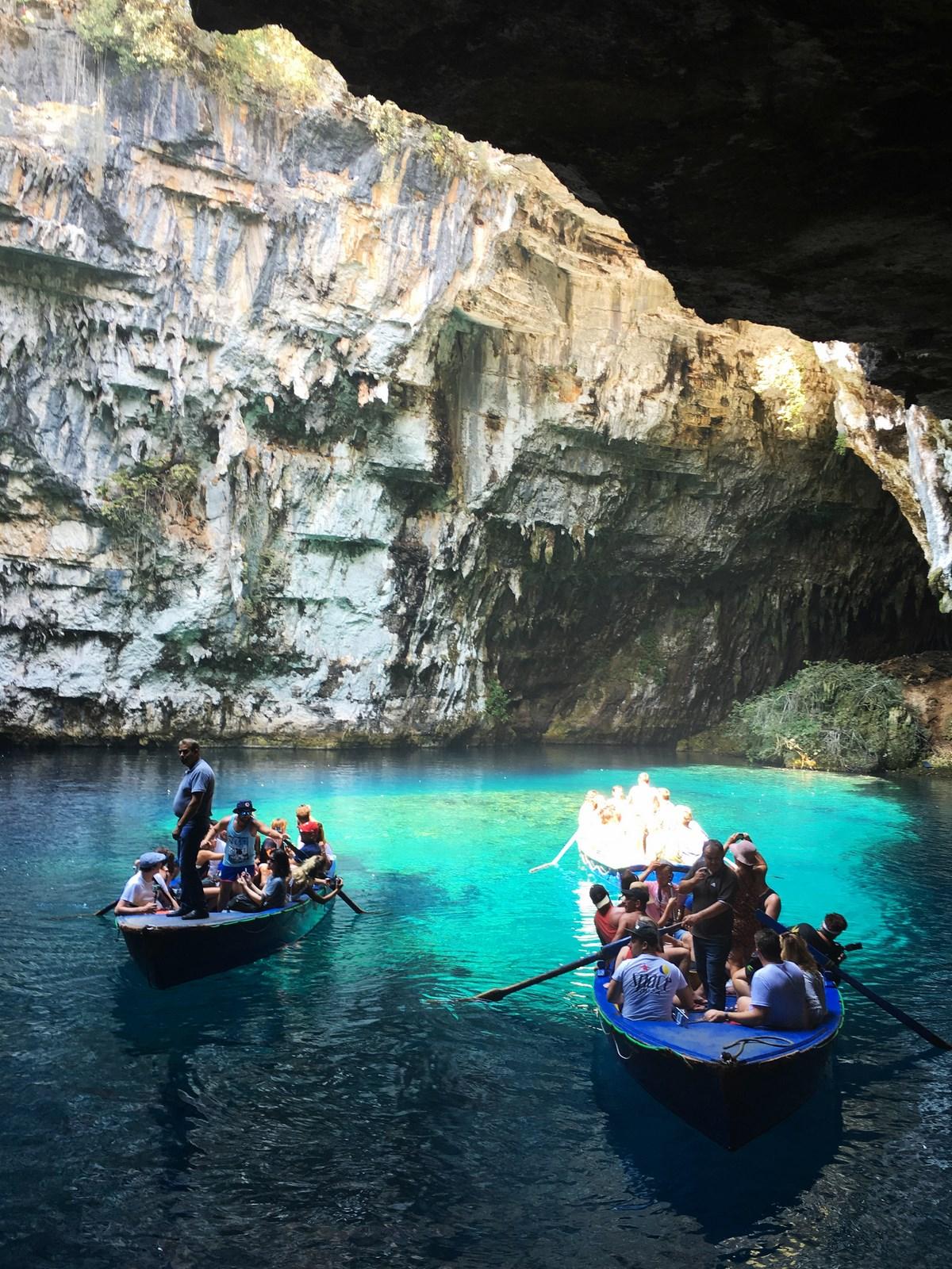 jaskinia Melisani, Grecja