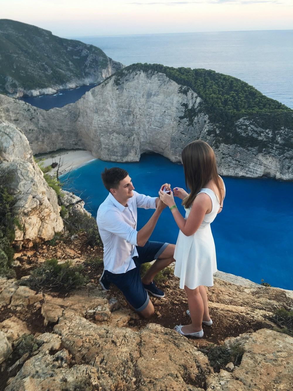 zaręczyny na wyspie