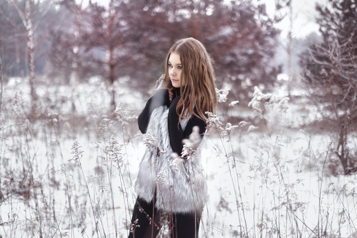 Zimowa sesja zdjęciowa